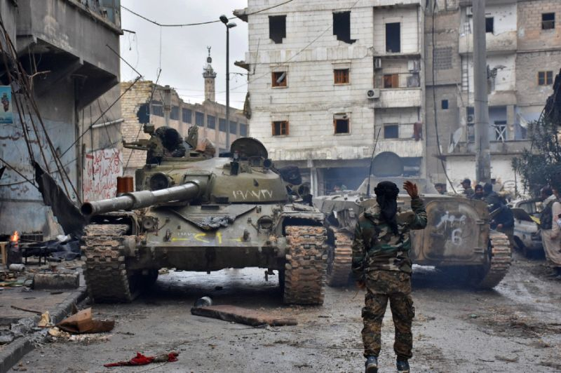pro assad forces shell turkish positions in syria