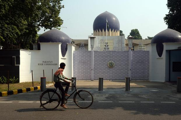 pakistan high commission in new delhi photo afp