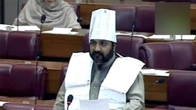 pti lawmaker adopts unique way of protesting against electricity bills