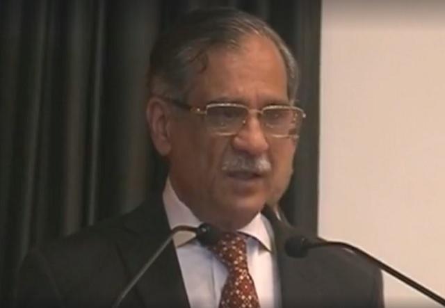chief justice saqib nisar visits dr adib rizvi 039 s sindh institute of urology and transplantation in karachi screengrab