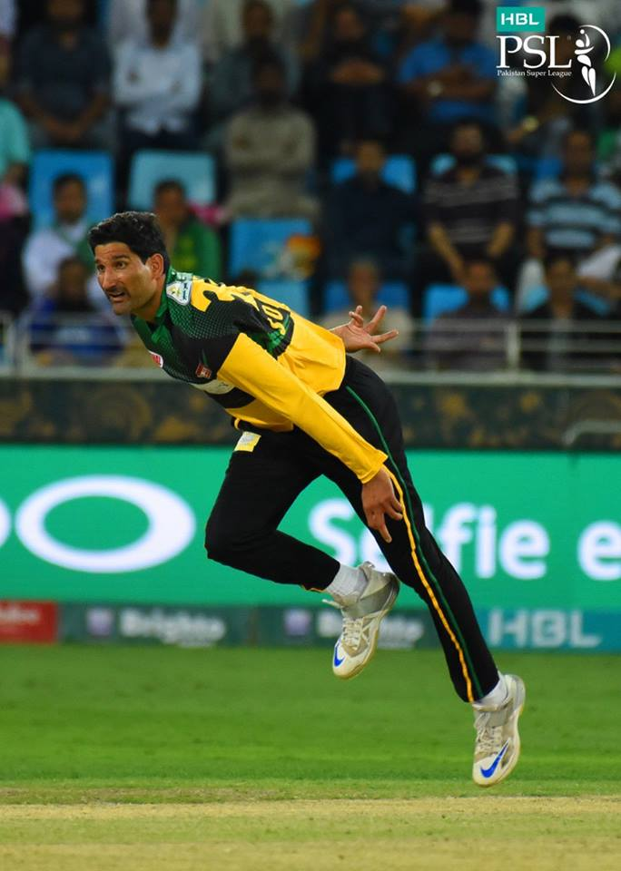 BEST MENTOR: Sohail Tanvir believes the presence of Pakistan legend Wasim Akram in the same camp motivates every pacer, especially the left-arm ones. PHOTO COURTESY: PSL