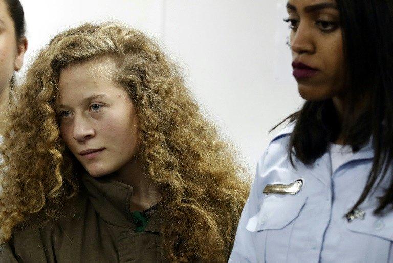 palestinian teen in slap video jailed eight months in plea deal