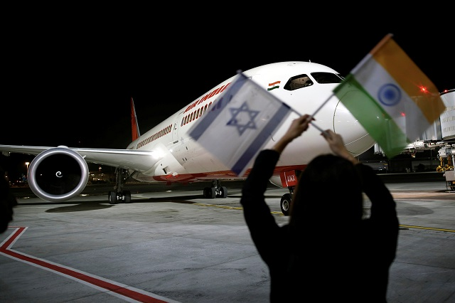 an air india boeing 787 8 dreamliner plane lands at the ben gurion international airport in lod near tel aviv israel march 22 2018 photo reuters