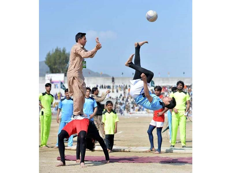 jubilation in mohmand month long youth and sports festival closes