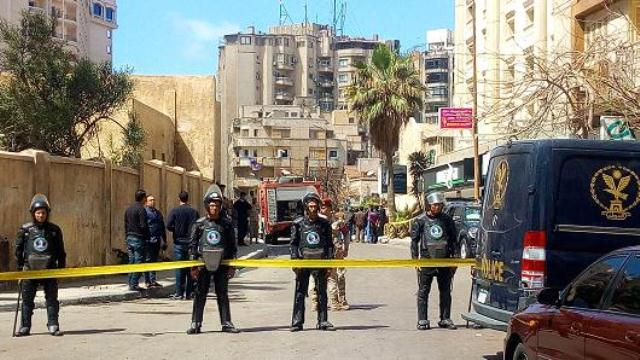 bomb kills two in alexandria ahead of egypt presidential vote