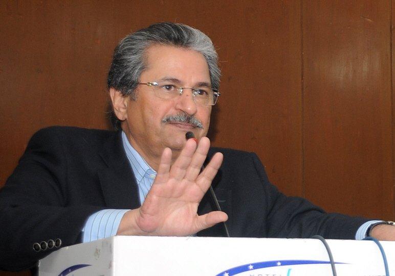 Shafqat Mahmood. PHOTO: EXPRESS/ FILE