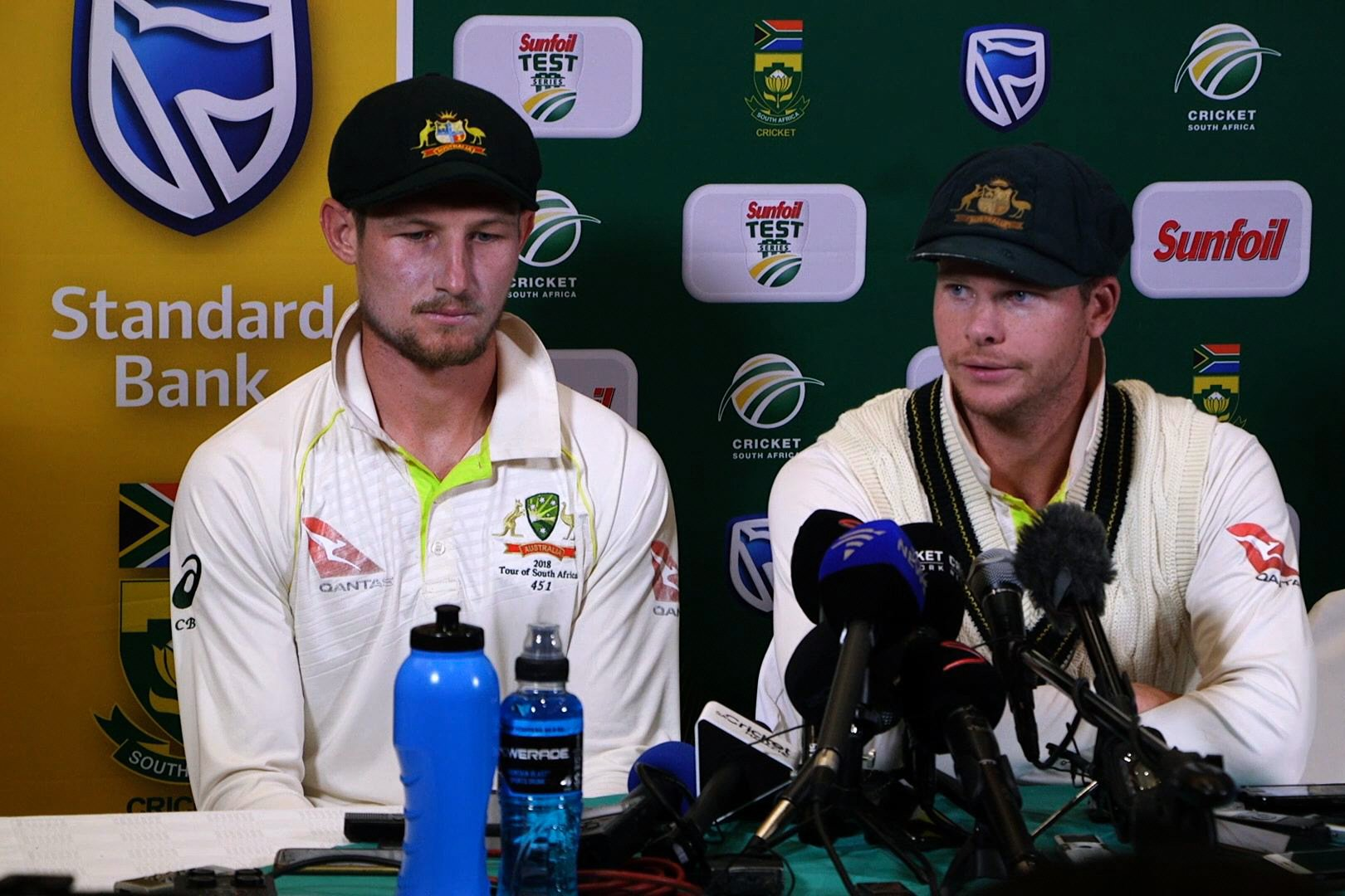 smith s removal from captaincy mid test and one match ban may not be the only sanctions he faces photo afp