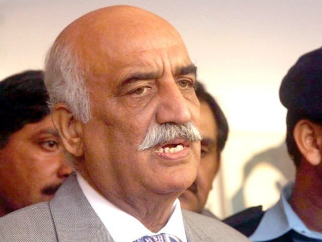 Leader of the Opposition in the National Assembly Khurshid Shah. PHOTO: FILE