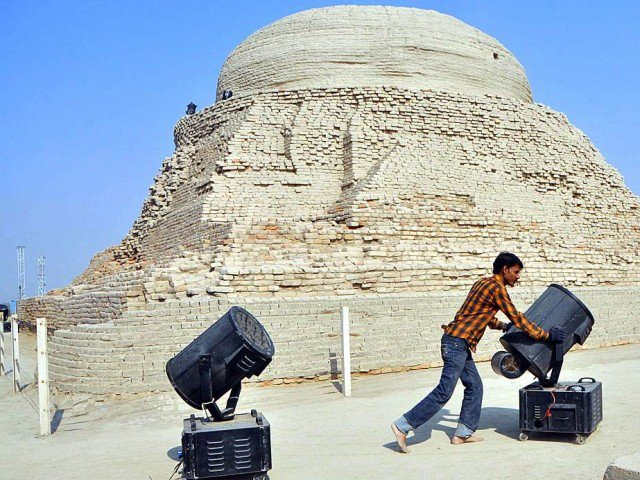 90 of mohen jo daro ruins yet to be excavated