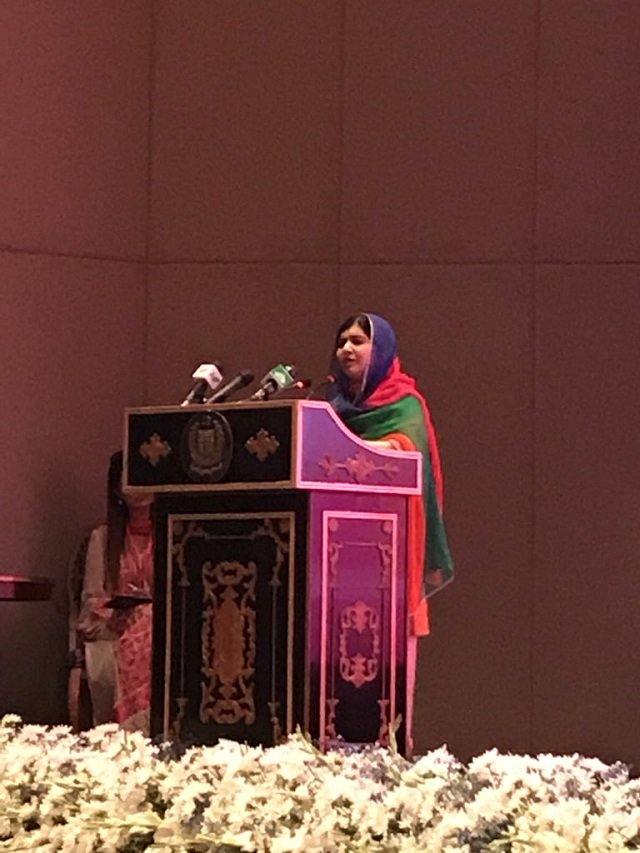 have dreamed of coming back to pakistan for five years malala yousafzai