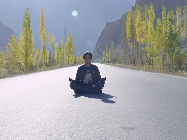 sohai ali abro is breaking many stereotypes in motorcycle girl trailer