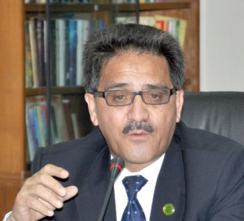 University of Balochistan Vice Chancellor Prof Dr Javed Iqbal. PHOTO: FILE