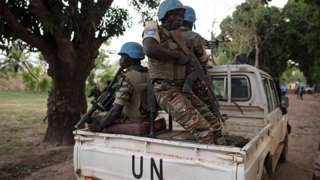 un peacekeepers attacked by c africa armed group