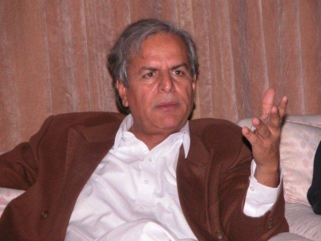 Veteran politician questions Bajwa Doctrine. PHOTO: EXPRESS