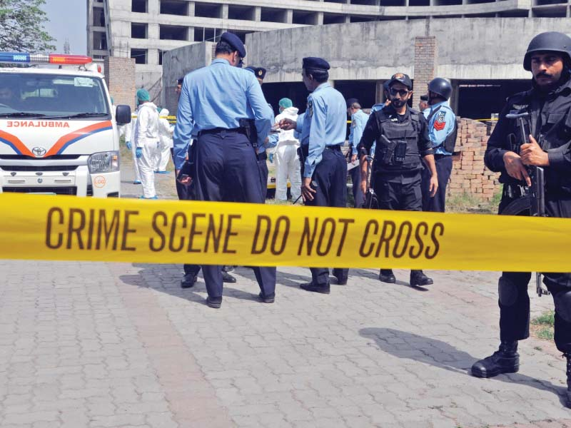 practice exercise mock terror attack drill held