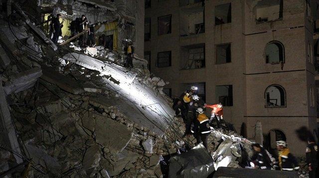blast kills 13 civilians in syria s idlib