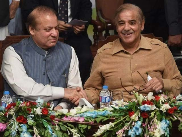 The Sharif brothers. PHOTO: REUTERS