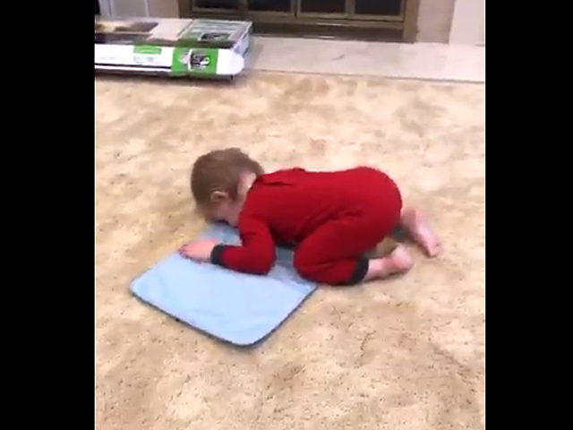 video of toddler imitating muslim teachers takes social media by storm