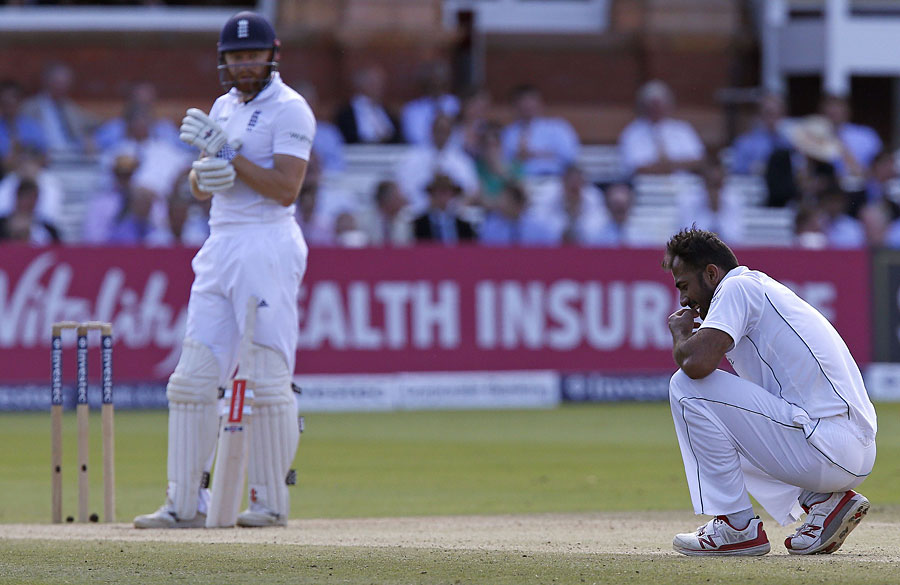 BATTLE READY: The right-handed opener Azhar Ali says England will have home advantage in the two-match Test series but Pakistan are ready for the challenge. PHOTO: AFP