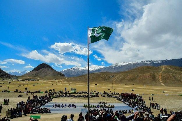 Qaqlasht Festival kicks off in Chitral. PHOTO: EXPRESS