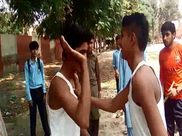 watch slapping contest kills sixth grader in mian channu