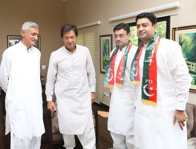 Fawad Chaudhry says the ruling party is 'crumbling off' and more of its leaders will join PTI in coming days. PHOTO: PTI OFFICIAL