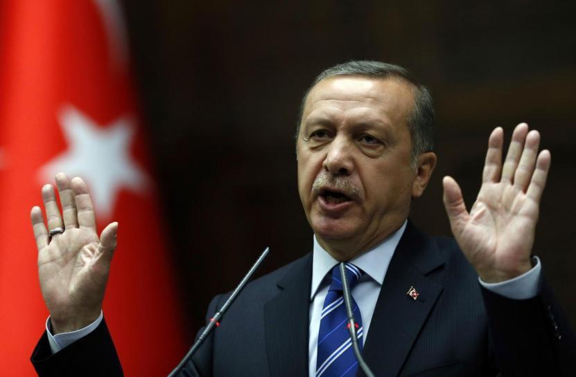 erdogan welcomes syria strikes against assad regime
