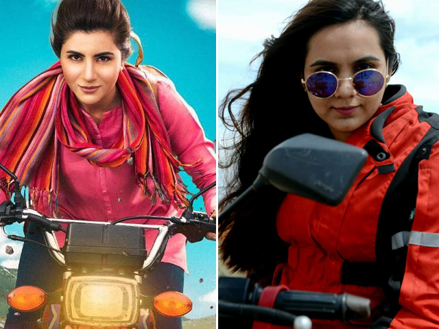 in conversation with reel and real life motorcycle girl