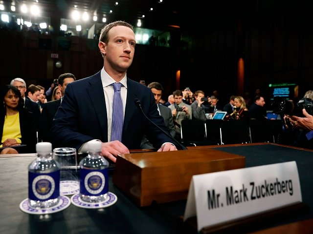 Facebook CEO Mark Zuckerberg testifies before Congress. PHOTO: REUTERS