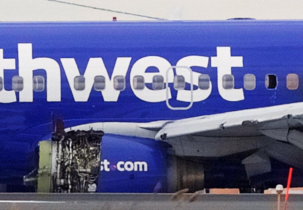 one dead after engine explodes on southwest flight