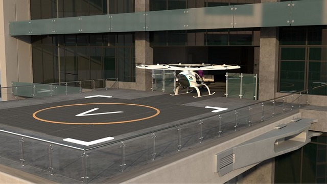 startup reveals vision for air taxi launchpads