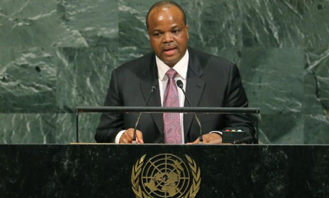 africa s absolute monarch renames swaziland as eswatini