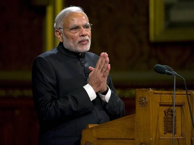 india s congress slams modi for boastful claim on surgical strikes