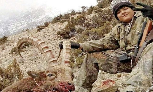 young trophy hunter gets his target but loses the title