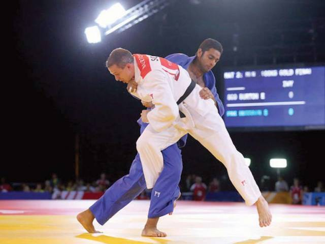Shah Hussain Shah (in blue). PHOTO COURTESY: IJF