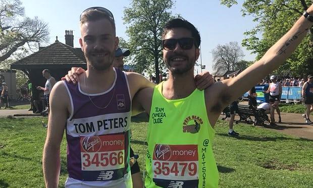 chef dies after collapsing at london marathon