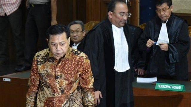 indonesia s former speaker gets 15 years in jail for corruption