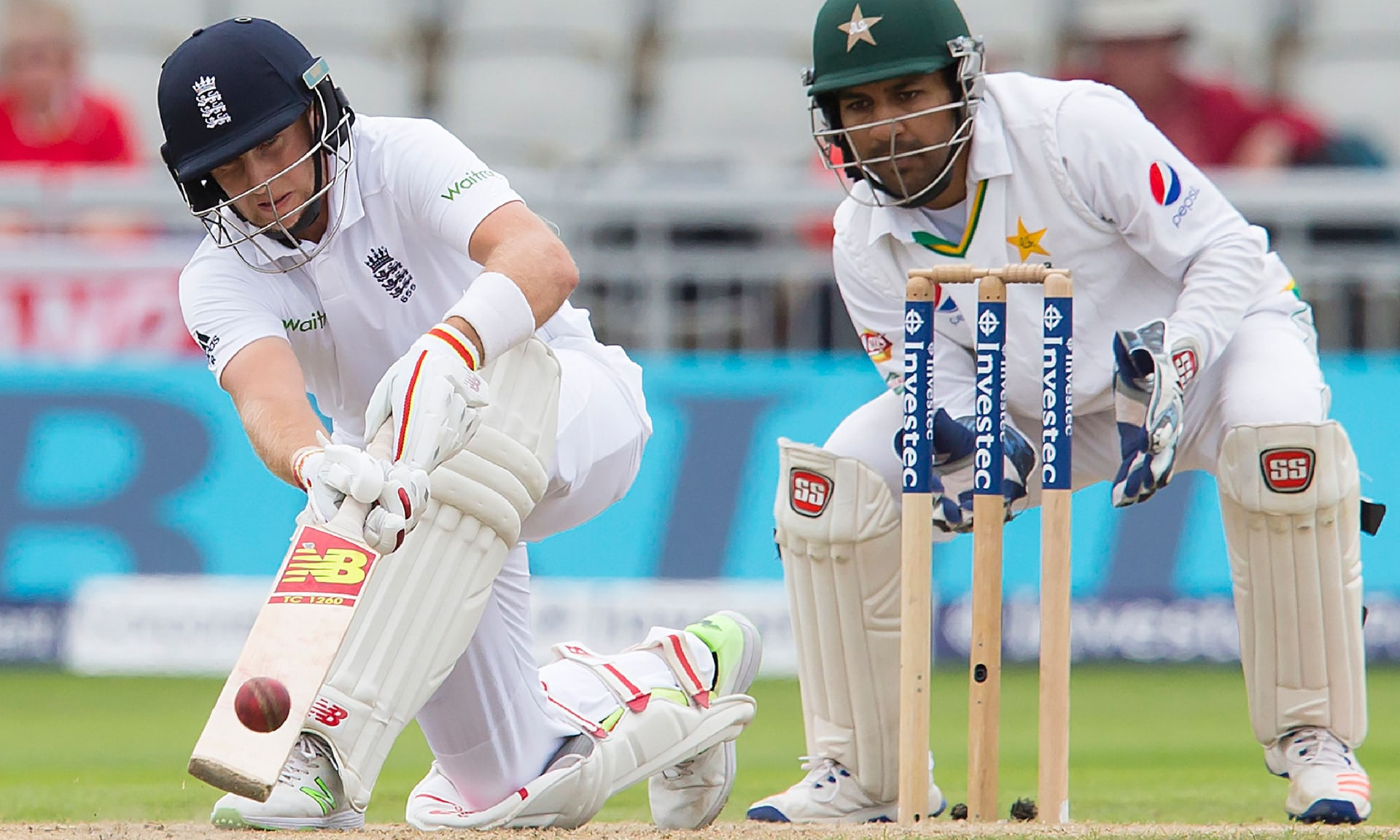 Challenging the squad: Root has urged England to continue seeking improvement. PHOTO: AFP