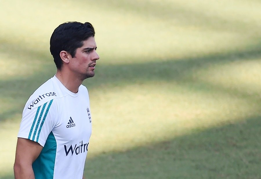 Past it? Cook is England's highest-ever Test run-getter but the 33-year-old may be coming to the end of his glittering career. PHOTO: AFP