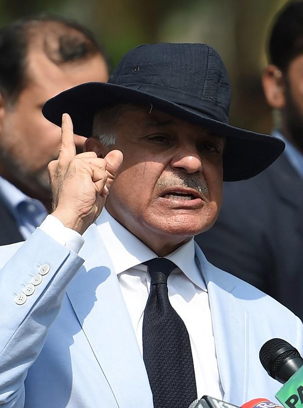 CM Punjab Shehbaz Sharif. PHOTO: AFP