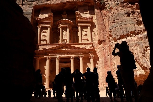 Petra, a UNESCO World Heritage Site, was once a major crossroads for caravans transporting Arabian incense, Indian spices and Chinese silks. PHOTO: AFP