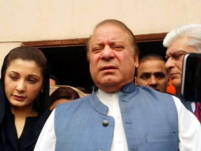 nawaz criticises pti lahore rally for having someone else s agenda