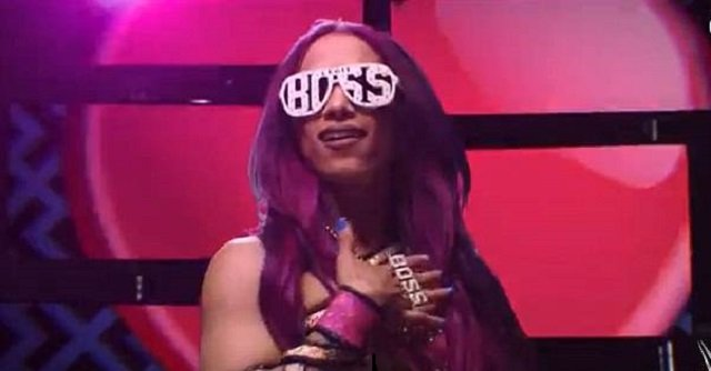 The video in question promoted WWE Network's upcoming dual-branded PPV 'Best of Both Worlds' show; Sasha Banks is a former women's champion. PHOTO COURTESY: WWE