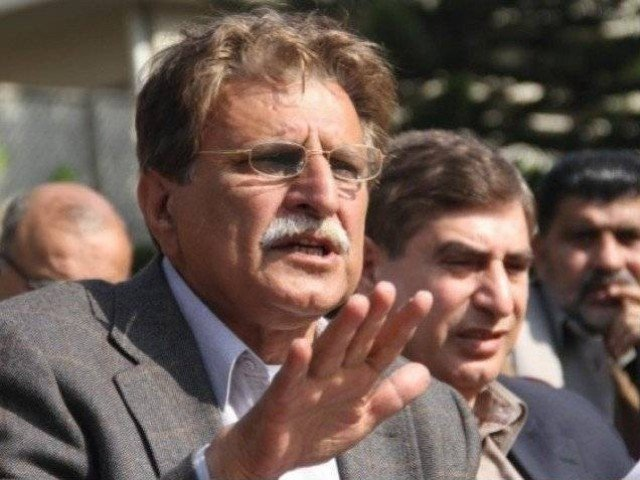 ajk pm farooq hiader khan demands an independent investigation into the matter and gross violation of human rights photo file