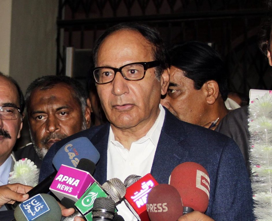 pml q can solve people s problems says shujaat