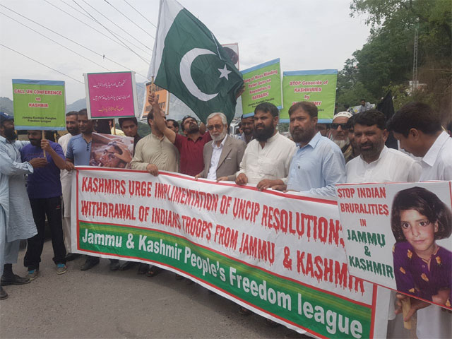 protesters in iok demand justice for asifa