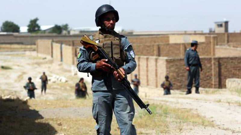 Afghanistan police. PHOTO: AFP