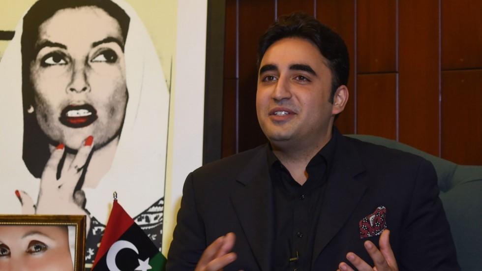 PPP chief Bilawal Bhutto-Zardari. PHOTO: AFP