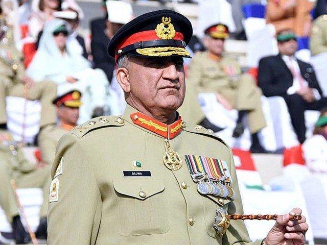 army chief praises efforts of law enforcement for restoring karachi peace