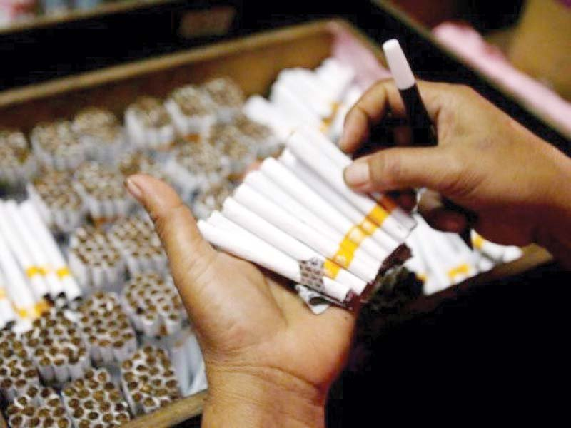Under the special audit, inspection teams will collect data of the cigarette industry to determine actual production levels in the country. PHOTO: FILE